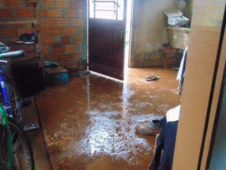 Chuvas provocam prejuízos e estragos em Estação