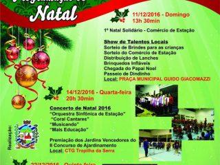 Programação de Natal em Estação conta com prêmios e shows