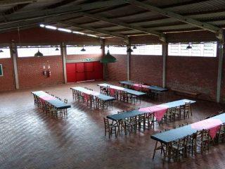 Salão comunitário do Bairro Santana de Estação já está organizado para começar as atividades de 2017.