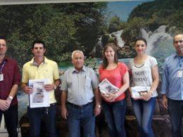 Prefeito Humildes recebe visita da equipe do IBGE