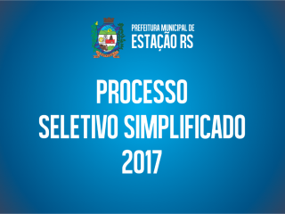 Prefeitura de Estação abre inscrições para processo seletivo simplificado – Confira os Editais