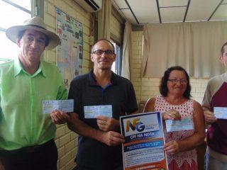 Prefeitura de Estação divulga ganhadores da Nota Fiscal Gaúcha Municipal