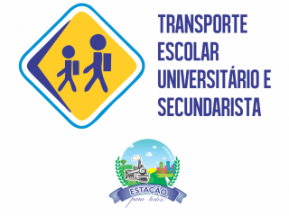 Abertas as inscrições para o Auxílio Transporte para universitários e secundaristas