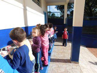 Escola Municipal Aurélio Castelli trabalha conceitos de Educação Fiscal