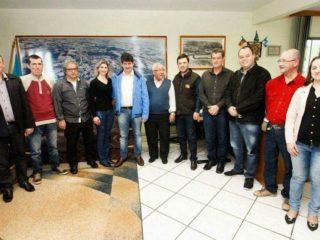 Visita do Deputado Tiago Simon ao Executivo Municipal