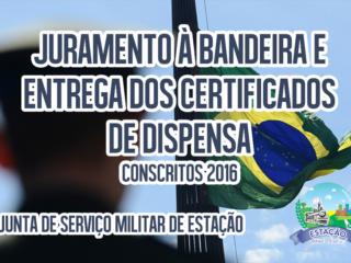 COMUNICADO – Junta de Serviço Militar de Estação