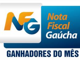 Ganhadores do Sorteio da Nota Fiscal Gaúcha do mês de Novembro