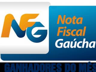 Ganhadores da Nota Fiscal Gaúcha do mês de Abril de 2018