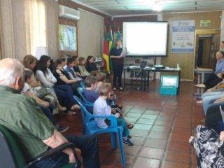 Estação recebe visita de auditor fiscal para avaliar Projeto Municipal de Educação Fiscal