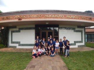 Alunos da Escola Pedro Cecconelo de Estação visita o MUZAR