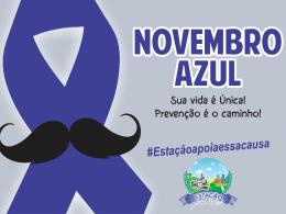 Tarde da Saúde: Auto-cuidado e promoção de saúde – Novembro Azul