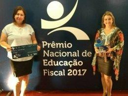 Realizada ontem a entrega do Prêmio Nacional de Educação Fiscal
