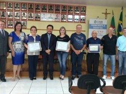 Prefeitura Municipal recebe reconhecimento da AFISVEC