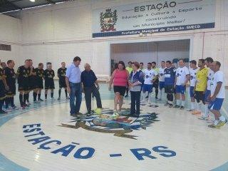 Estação: Começou o Campeonato Municipal de Futsal