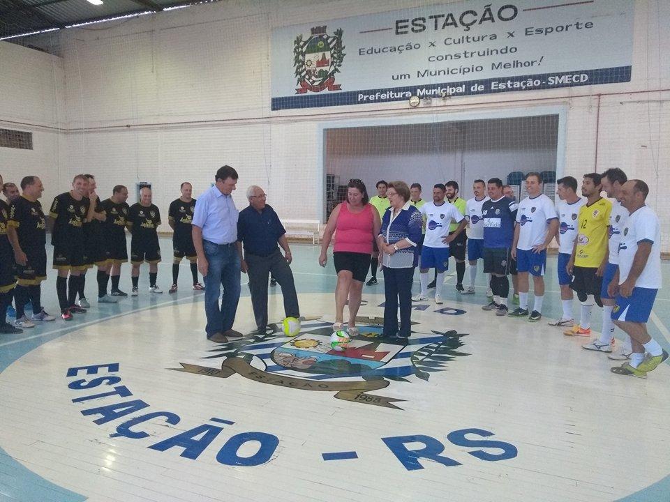 a38eefab9ae58 Estação  Começou o Campeonato Municipal de Futsal - Estação ...