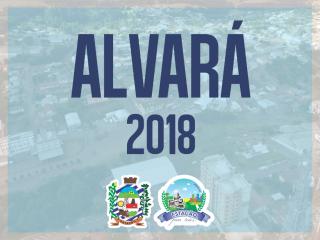 Disponível Alvará 2018