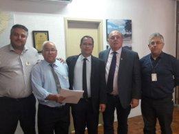 Prefeito Humildes trata assuntos no DAER em Porto Alegre
