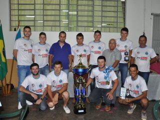 Entregue premiação do 28º Campeonato Municipal de Futsal de Estação