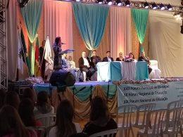 Professoras Municipais participam do Fórum Educação