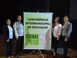SMECDT e CME participam da Conferência Intermunicipal de Educação