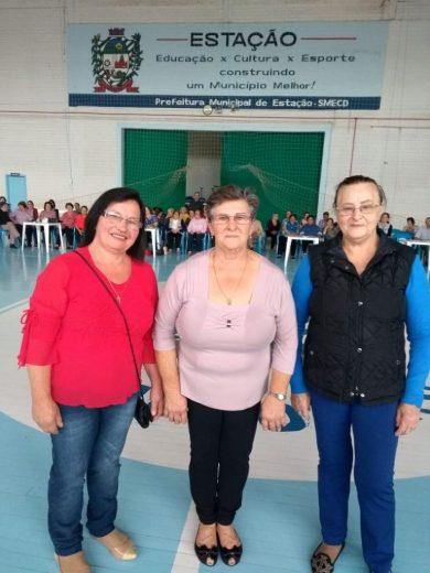 Eleita a corte  do Grupo Conviver – Terceira Idade de Estação 2018/2019