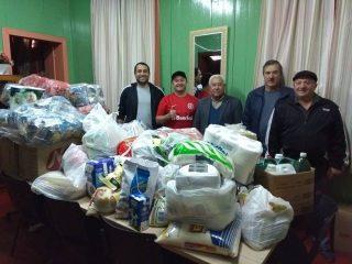 Assistência Social de Estação recebe doações do Kalistrey