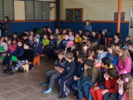 Alunos de Estação participam de momento de socialização de atividades do projeto União faz a vida