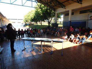 Escola Municipal Aurélio Castelli realiza 2ª Gincana do Conhecimento