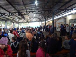 Dia dos Avós é comemorado na Escola Municipal Pedro Cecconelo