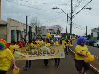 Caminhada do Setembro Amarelo encerra o mês da prevenção ao suicídio