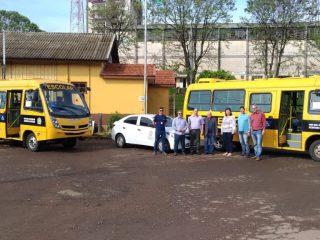 Prefeitura de Estação adquire novos veículos