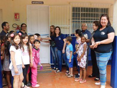 Equipe Diretiva da EMEF Aurélio Castelli investe em Projeto de Inclusão Social