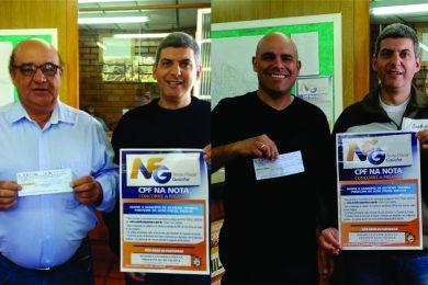 Estação divulga os ganhadores da nota Fiscal Gaúcha de Setembro
