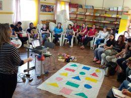Educadores  da Rede Municipal e Estadual participam de formação na área de Matemática