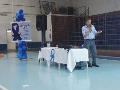 Palestra sobre saúde do homem marca o Novembro Azul
