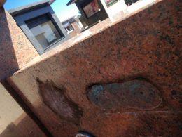 Cemitério de Estação sofre furtos e vandalismo