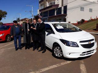 Secretaria de Educação, Cultura, Desporto e Turismo de Estação recebe novo veículo