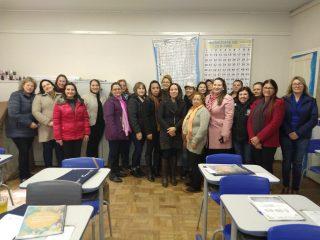 Secretaria Municipal de Educação, Cultura, Desporto e Turismo de Estação, promoveu curso de Boas Práticas para a Manipulação de Alimentos