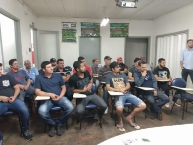 Prefeitura de Estação, juntamente com a Secretaria Municipal de Assistência Social/CRAS, em parceria com SENAI/Erechim e Empresa Mepel promovem curso gratuito de Soldagem