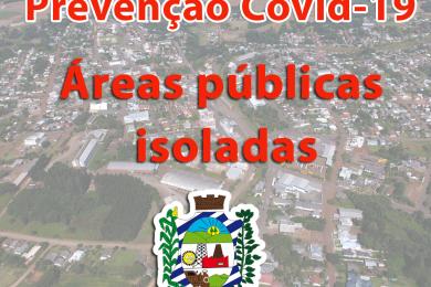 ISOLAMENTO DE ÁREAS EXTERNAS
