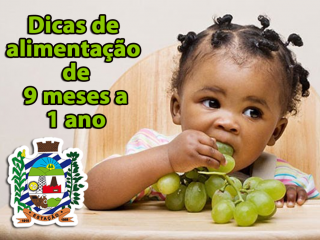 Dicas de alimentação infantil para 9 meses a 1 ano