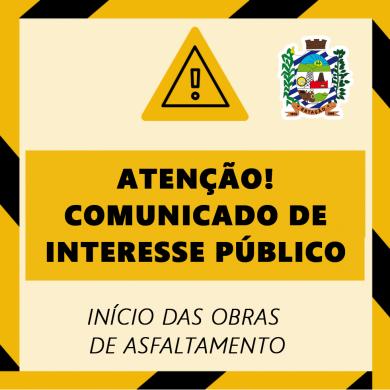 COMUNICADO DE INTERESSE PÚBLICO