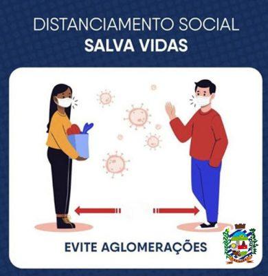 ➡️ O QUE É DISTANCIAMENTO SOCIAL?