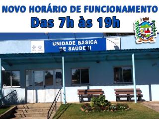 HORÁRIO de ATENDIMENTO ESTENDIDO na UBS II