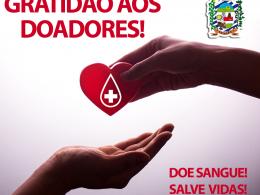AGRADECIMENTO ESPECIAL aos que compartilharam vida doando sangue!