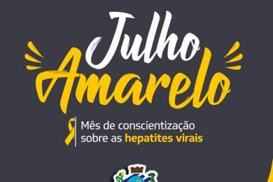 """💛 """"Julho Amarelo"""" Prevenção e controle das hepatites virais"""