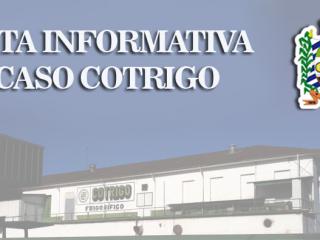 NOTA INFORMATIVA CASO COTRIGO