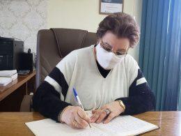 Vice-Prefeita Sra. Maria Perin Tonin estará a frente do município até dia 04 de setembro