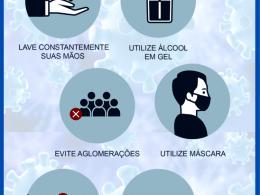 MANTENHA A PREVENÇÃO AO CORONAVÍRUS