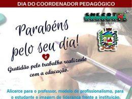 Dia do coordenador pedagógico